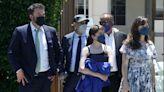 Ben Affleck & Ex Jennifer Garner Reunite For Daughter's Graduation After Steamy J.Lo Date