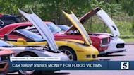 Car show raises money for Waverly flood victims