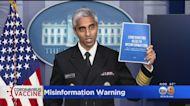 Surgeon General Vivek Murthy Issues Advisory On COVID Misinformation