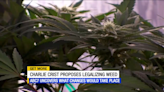 Florida governor candidate Charlie Crist seeks to legalize marijuana if elected