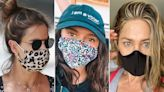 Where to Shop the Stylish Face Masks Celebrities Keep Wearing — Including Jennifer Lopez's Sparkly Number