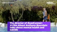 The director of 'Roadrunner: A Film About Anthony Bourdain' talks about mental health and suicide