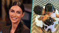 Kim Kardashian Celebrates Major Milestone With Adorable Photo Of Stormi, True & Chicago Kissing