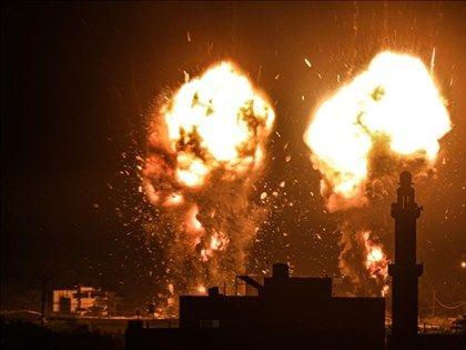 巴勒斯坦放縱火氣球再起衝突 以色列空襲回擊
