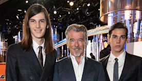 Proud Dad! Pierce Brosnan Cheers on His Sons Ahead of Their Golden Globe Ambassador Debut