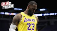 Ric Bucher: I'm not buying LeBron's confidence in the Lakers roster | SPEAK FOR YOURSELF