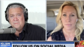 """Steve Bannon, Marjorie Taylor Greene discuss """"national divorce"""" between red and blue states"""