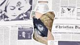 Rihanna Wears a Vintage Dior Newspaper Bustier