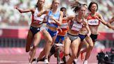 Video: Insane Finish To Women's 1500M Olympic Heat Race