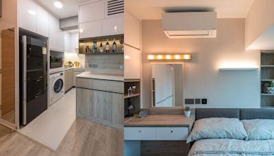 家居裝修│三人一犬住326呎單位 設計師改動間隔、巧用儲物櫃增空間感 | 生活熱話