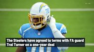 Steelers agree to terms with FA guard Trai Turner