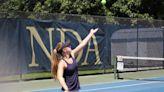 Alex Prudente leads NDA-Hingham girls' tennis past Duxbury in Div. 2 South semifinal - The Boston Globe