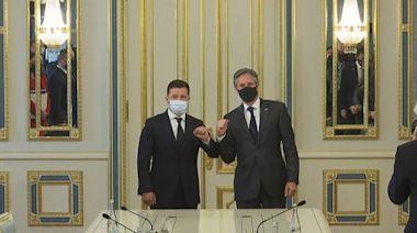 布林肯訪基輔晤澤連斯基 重申美國支持烏克蘭抵禦俄羅斯