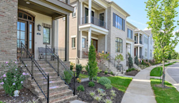 A new style of villa living nears capacity in Prairie Village