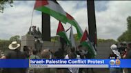 Protestors Demonstrate Against Israeli-Palestine Conflict