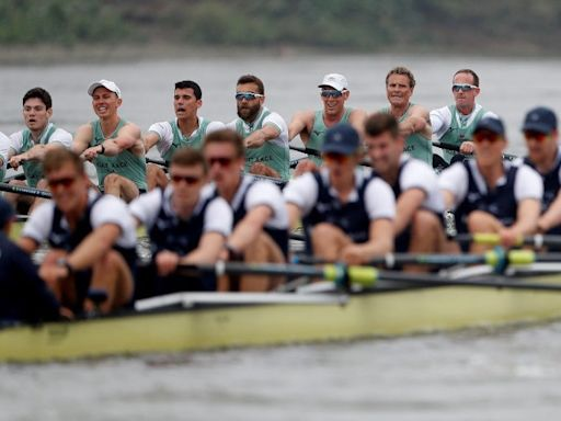 Boat Race moved from River Thames for first time in 77 years