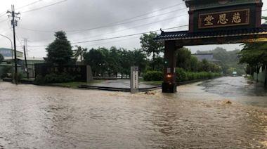 【盧碧發威】高屏炸雨慘淹30公分 那瑪夏等5行政區下午停班課--上報