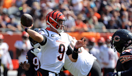 Bears stun Joe Burrow with 3 straight interceptions to end NFL-best streak
