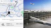 ¿Cuánto cuesta llegar al aeropuerto de Santa Lucía desde Santa Fe en CDMX?