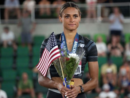Sydney McLaughlin is poised for podium at Tokyo Olympics after record-breaking trials performance