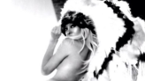Pamela Anderson criticised for wearing Native American headdress for Halloween
