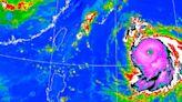 海神颱風眼超清晰!欲成今年最強颱 這3區小心雷雨狂炸