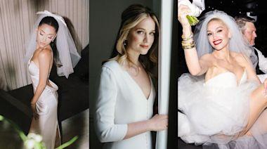 2021女明星絕美婚紗盤點!極簡、唯美都有,參考亞莉安娜、關史蒂芬妮等6位女星的完美婚紗