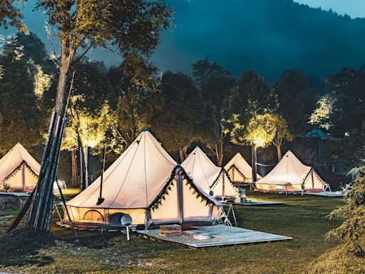 降級出遊|苗栗渡假村一泊二食加泡湯3千有找 新竹雙人豪華露營一泊四食8100元 | 蘋果新聞網 | 蘋果日報
