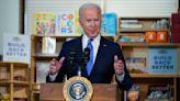 Biden champions 'Build Back Better' plan while visiting child care center for legislators