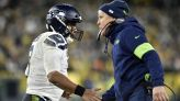 Russell Wilson gets Super Bowl flashbacks on Manning-cast with Derek Carr red zone INT