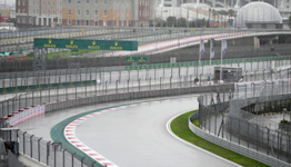 Heavy rain puts qualifying for Russian Grand Prix in doubt