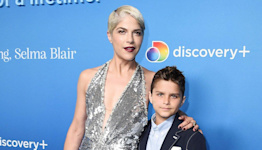 Selma Blair on Letting Son Arthur Shave Her Head Before Stem Cell Transplant: 'A Nice Moment'