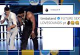 Justin Timberlake and Timbaland Instagram posts fuel collaboration reunion rumors
