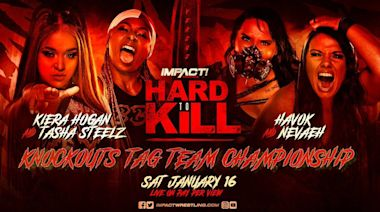 This Impact Wrestling star, vying for Knockouts tag team gold, is solid as Steelz