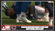 Bears running back David Montgomery suffers knee injury