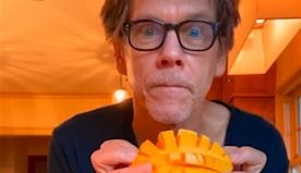Kevin Bacon Shares His Breakfast Routine in the Most Wholesome Video