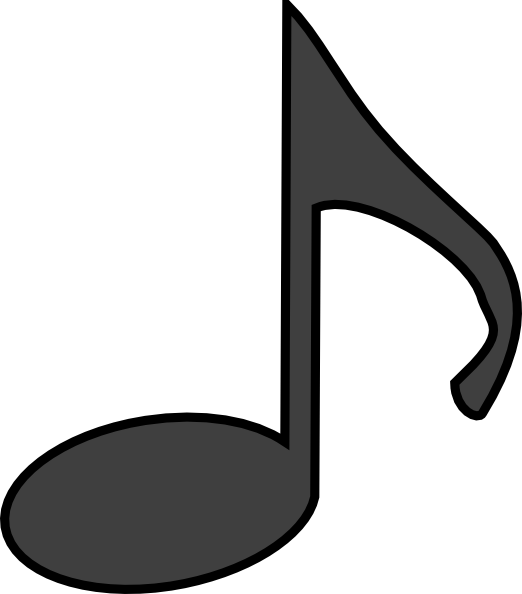 Music Note Clip Art at Clker.com - vector clip art online, royalty ...