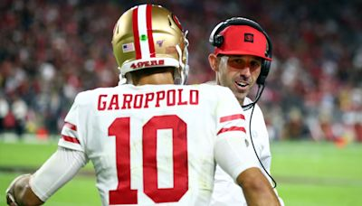 Jimmy Garoppolo reacts to rumors about potential return to Patriots