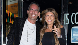 RHONJ Star Teresa Giudice Flashes Engagement Ring While Stepping Out with Fiancé Luis Ruelas