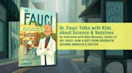 Author Kate Messner and Dr. Fauci interview | Dr. Fauci: How a Boy from Brooklyn Became America's Doctor
