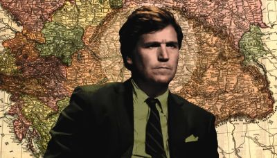 Tucker Carlson joins the right-wing pilgrimage to Budapest