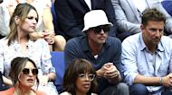 Savannah Guthrie sits by Brad Pitt and Bradley Cooper at US Open