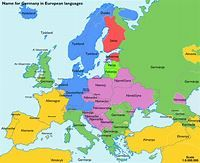 Why is 'Deutschland' called 'Germany' in English? What do ...