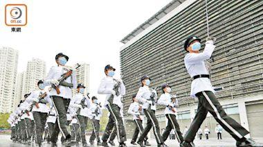 港紀律部隊中式步操 國防部:有利加強國安意識 - 東方日報