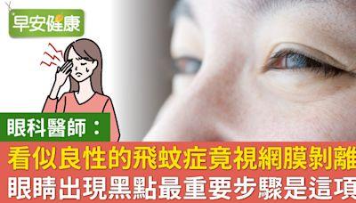 別只在意飛蚊消不消失!眼科醫師告訴你飛蚊背後隱藏的視力危機