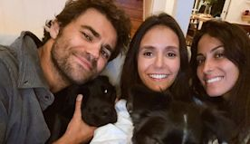 """""""The Vampire Diaries"""" Co-Stars Paul Wesley and Nina Dobrev Reunited for the Cutest Puppy Date"""