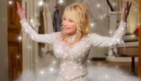 Dolly Parton on her holiday movie musical, 'Christmas on the Square': 'We need some joy'