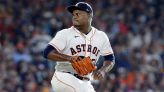 Astros lose combo no-hit try in 8th; Rangers' skid hits 11