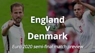 England v Denmark: Euro 2020 semi-final match preview