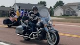 Hundreds of bikers cruise Dells for Trump Freedom Rally